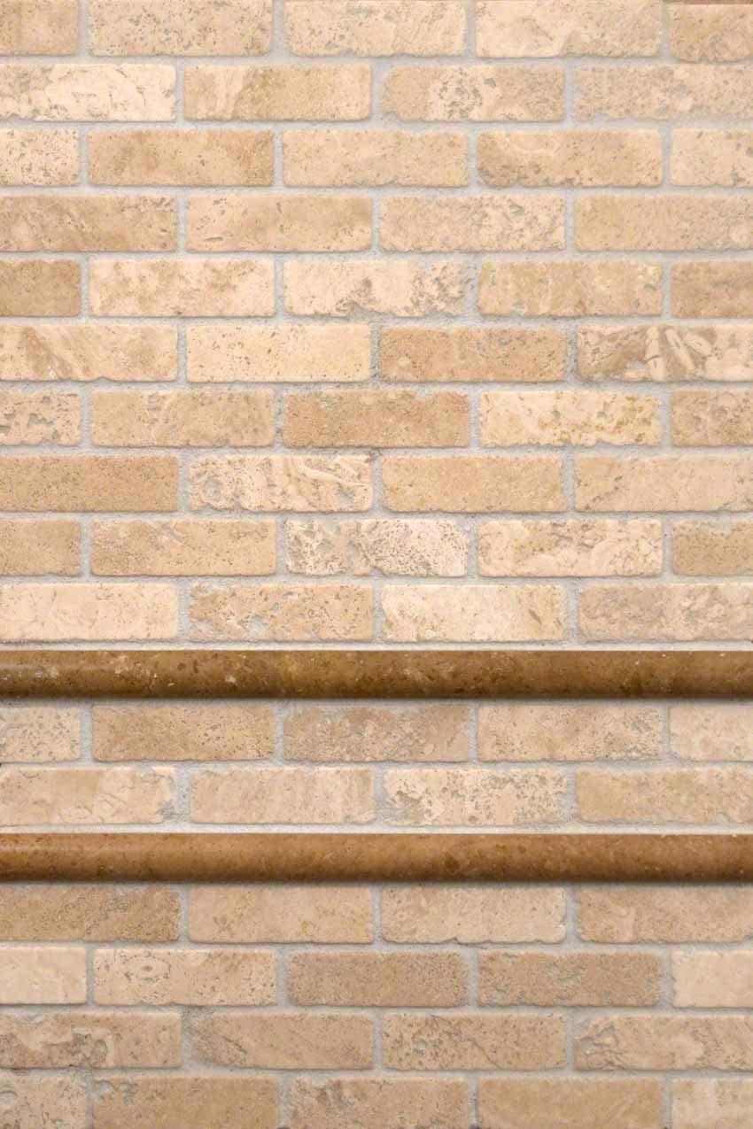 2x4 subway tile backsplash